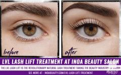 LVL Lash Lift Treatment at INOA Beauty Salon Romford