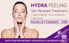 New Hydra Peeling Skin Renewal Treatment at INOA Beauty