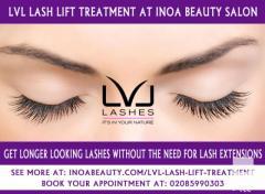 Now LVL Lash Lift Treatment Avail at INOA Beauty