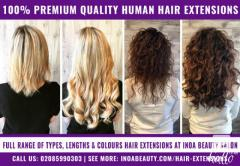 Premium Quality Human Hair Extensions at INOA Beauty
