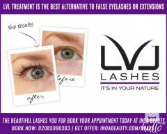 LVL treatment is best alternative to false eyelashes