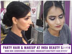 Party Hair and Makeup at INOA Beauty Salon