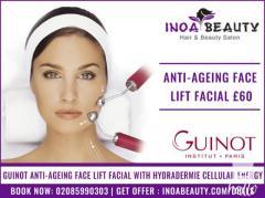 Guinot Anti-Ageing Face lift Facial at INOA Beauty