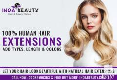 Your hair look beautiful with natural hair extensions