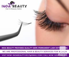 Eyelash Extensions at INOA Beauty Salon