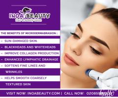 INOA Beauty Salon Providing Microdermabrasion Treatment