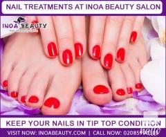 Inoa Beauty Salon Providning Nail Treatments