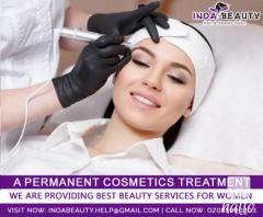 Inoa Beauty Salon Providning Microblading Eyebrows