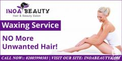 Book your wax appointment at Inoa Beauty