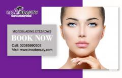 Microblading Eyebrows at Inoabeauty Salon