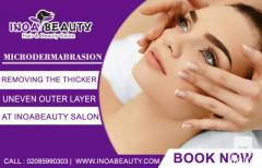 Microdermabrasion treatments at inoabeauty Salon