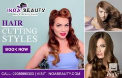 Hair Cutting and Styles at Inoa Beauty Salon