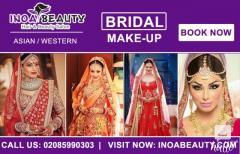 AsianWestern Bridal Makeup At Inoa Beauty Salon