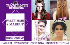 Party Hair & Makeup  Inoa Beauty Salon