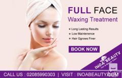 Full Face Waxing Treatment  Inoa Beauty Salon