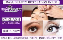 Eyebrow And Eyelash Treatment  Inoa Beauty Salon