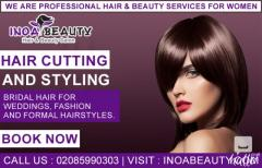 Hair Cutting And Styling At Inoa Beauty Salon