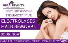 Electrolysis Hair Removal Treatment At Inoa Beauty