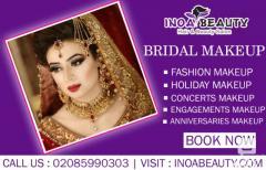 Bridal Make Up At Inoa Beauty Salon