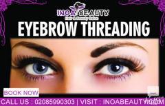 Inoa Beauty Salon Service Provide Eyebrow Threading