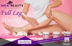 Full Leg Waxing Treatment At Inoa Beauty Salon