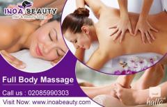 Full Body Massage At INOA Beauty Salon