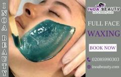 Full Face Waxing Treatment At INOA Beauty Salon