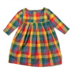 Smock Dress for Autumn Leaves Tilly & Jasper