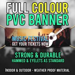 Cheap Outdoor PVC Banner Printing in Cardiff UK