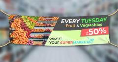 Cheap Outdoor PVC Banner Printing in Cardiff Free Deliv