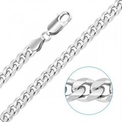 Sterling Silver Curb Chains for Men