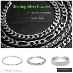 Silver Bracelets for Women at TheChainHut