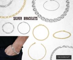 Silver Bracelets for Women, Ladies Silver Bracelets