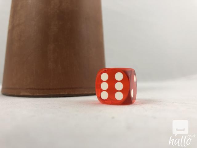 Remote control dice for backgammon NEW 8 Image