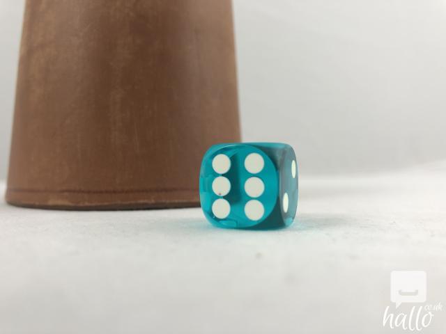 Remote control dice for backgammon NEW 5 Image