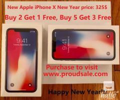 Brand New Apple Iphone X Silver 64GB Unlocked Phone