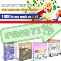 45X How-To Make Money Selling On Ebay Ebooks