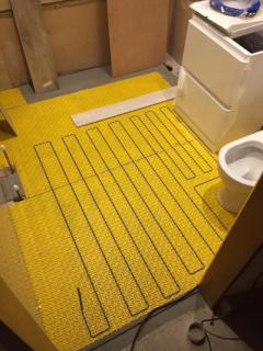 Under Floor Heating Installations & Repairs