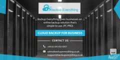 How to Get the Cloud Backup Solutions