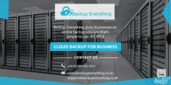 Cheap Cloud Backup in UK