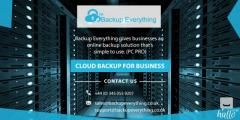 Get the Online Backup