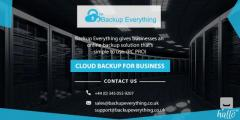 Cloud Backup Solutions For Business