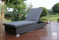 Monaco Sunlounger-  Rattan Outdoor Furniture