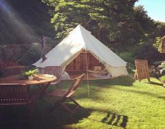 Romantic Palace Yurts Cotswolds