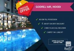 Godrejairhoodi Residencial Properties sale in bengaluru