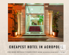 Cheapest Hotel In Acropolis