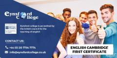 English Cambridge First Certificate