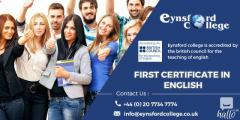 How to get a first certificate in english