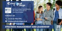 Choose Strategic Management and Leadership in London