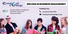 Choose the diploma in business management course